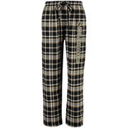 Men's Concepts Sports Black Purdue Boilermakers Bleacher Flannel Pants