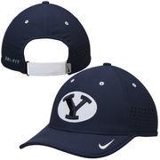 Men's Nike Navy Blue BYU Cougars Sideline Coaches Performance Hat