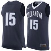 Men's Nike #15 Navy Villanova Wildcats Replica Jersey