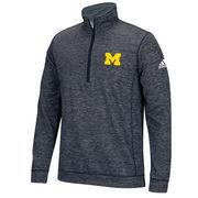 Men's adidas Navy Michigan Wolverines Tech 1/4-Zip climawarm Jacket