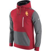 Men's Nike Cardinal/Charcoal USC Trojans AV15 Fleece Pullover Hoodie