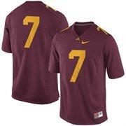 #7 Minnesota Golden Gophers Nike Replica Football Jersey - Maroon