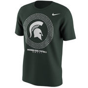 Men's Nike Green Michigan State Spartans 2016 Fan T-Shirt