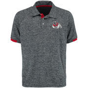 Men's Colosseum Navy Fresno State Bulldogs Spiral Polo