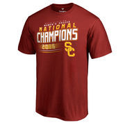 Men's Fanatics Branded Cardinal USC Trojans 2016 Women's National Soccer Champions T-Shirt