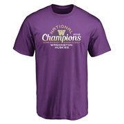 Men's Purple Washington Huskies 2016 NCAA Women's Golf National Champions T-Shirt