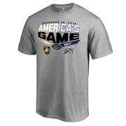 Men's Heather Gray Army Black Knights vs. Navy Midshipmen 2016 America's Game Matchup T-Shirt