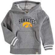Toddler Gray Iowa Hawkeyes Austin Arch Logo Hoodie