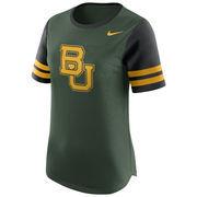 Women's Nike Green Baylor Bears Gear Up Modern Fan T-Shirt