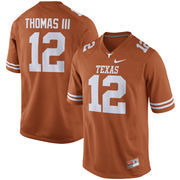 Men's Nike Earl Thomas Orange Texas Longhorns Alumni Football Game Jersey