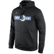 Men's Nike Black North Carolina Tar Heels Start of Season Pullover Performance Hoodie