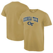 Men's Fanatics Branded Gold GA Tech Yellow Jackets Campus T-Shirt