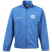North Carolina Tar Heels Columbia Youth Collegiate Flanker Fleece Jacket - Carolina Blue