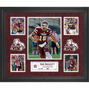 Dak Prescott Mississippi State Bulldogs Framed 23'' x 27'' 5-Photo Collage