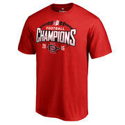 Men's Fanatics Branded Red San Diego State Aztecs 2016 Mountain West Conference Football Champions T-Shirt