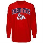 Fresno State Bulldogs  Midsize Long Sleeve T-Shirt - Cardinal