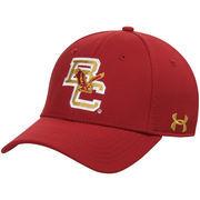 Men's Under Armour Maroon Boston College Eagles Fenway Team Logo Renegade Structured Flex Hat