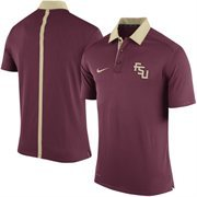 Men's Nike Maroon Florida State Seminoles 2015 Coaches Sideline Dri-FIT Polo