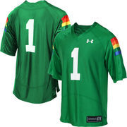 Mens Hawaii Warriors Under Armour Green Event Jersey