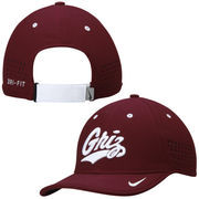 Men's Nike Maroon Montana Grizzlies Dri-FIT Sideline Coaches Adjustable Hat