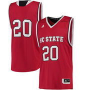 Men's adidas Red NC State Wolfpack Replica Basketball Jersey