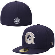 Men's New Era Navy Blue Georgetown Hoyas Basic 59FIFTY Fitted Hat