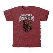 Montana Grizzlies Classic Primary Tri-Blend T-Shirt - Maroon