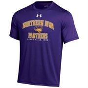 Northern Iowa Panthers Under Armour School Mascot Performance T-Shirt - Purple