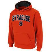 Men's Stadium Athletic Orange Syracuse Orange Arch & Logo Pullover Hoodie