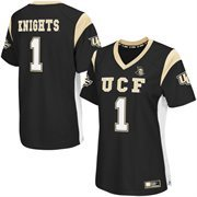 Women's Colosseum Black UCF Knights Football Jersey
