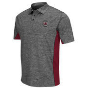 Men's Colosseum Gray/Garnet South Carolina Gamecocks Back Rush Polo