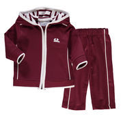Newborn & Infant Maroon Montana Grizzlies French Terry Pant & Jacket Sweat Set