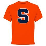 Mens Syracuse Orange Orange Core Logo T-Shirt