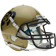 Schutt Colorado Buffaloes Full Size Authentic Helmet