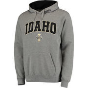 Men's Gray Idaho Vandals Arch & Logo Pullover Hoodie