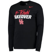 Men's Nike Black Houston Cougars H-Town Takeover Long Sleeve T-Shirt