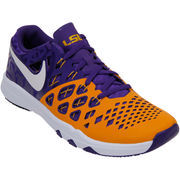 Men's Nike Purple LSU Tigers Train Speed 4 Week Zero College Collection Shoes
