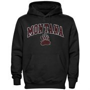 Montana Grizzlies Midsize Arch Pullover Hoodie - Black