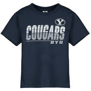 Youth New Agenda Navy BYU Cougars Decision T-Shirt