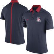 Men's Nike Navy Arizona Wildcats Coaches Sideline Dri-FIT Polo