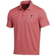 Men's Under Armour Red/Gray Texas Tech Red Raiders Kirkby Performance Polo