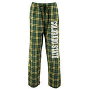 Women's Green Colorado State Rams Flannel Pajama Pants