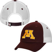 Mens Minnesota Golden Gophers Zephyr Maroon Basic Trucker Snapback Adjustable Hat