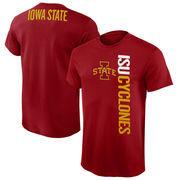 Mens Iowa State Cyclones Cardinal Fusion T-Shirt