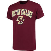 Men's Maroon Boston College Eagles Campus T-Shirt