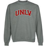 UNLV Rebels Arch Name Sweatshirt - Gunmetal