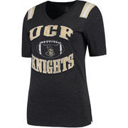 Women's Colosseum Black UCF Knights Artistic T-Shirt