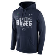 Men's Nike Navy Penn State Nittany Lions 2017 Rose Bowl Bound Verbiage Pullover Hoodie