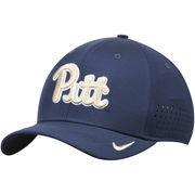 Men's Nike Navy Pitt Panthers Sideline Vapor Coaches Performance Flex Hat