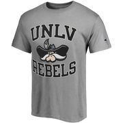 Men's Champion Gray UNLV Rebels Tradition T-Shirt